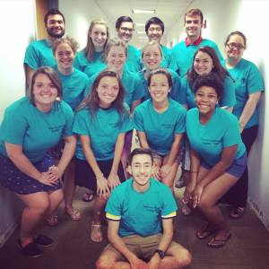 The Fall 2015 Service-Learning Street Team!